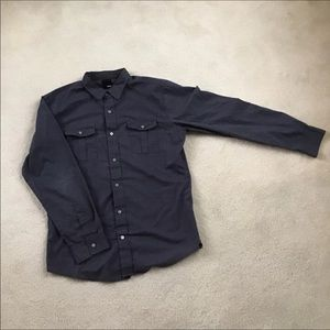 Krew/Kr3w double pocket button down shirt xl